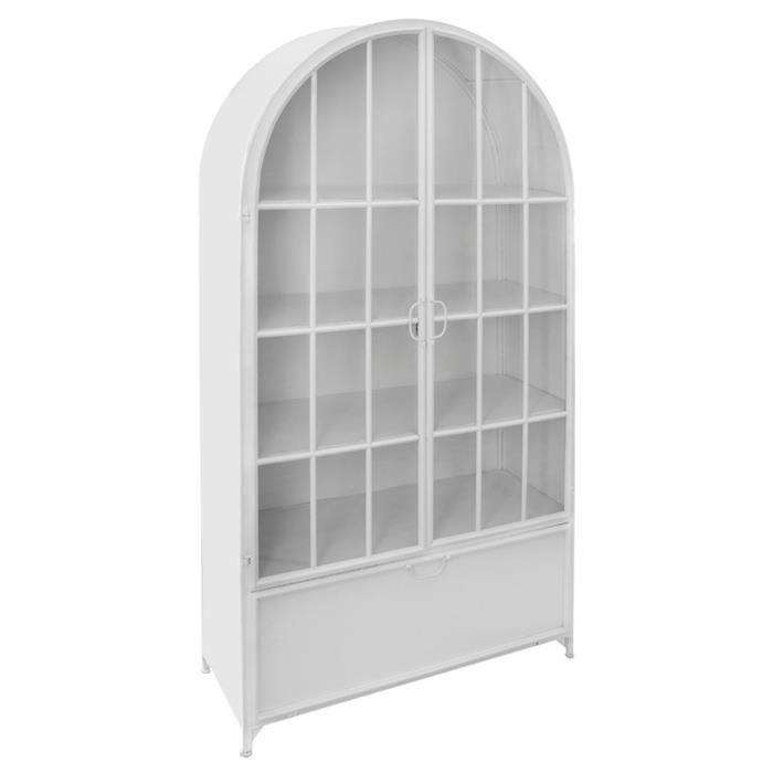 bibliothèque vitrine