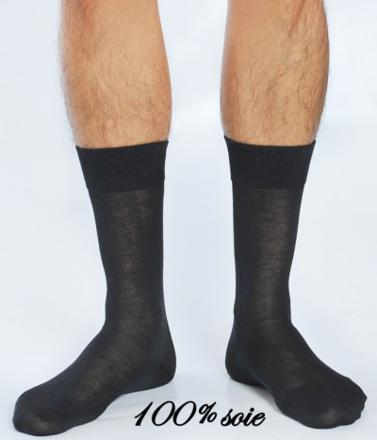 chaussette soie