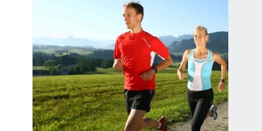 jogging training
