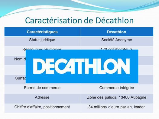 présentation décathlon