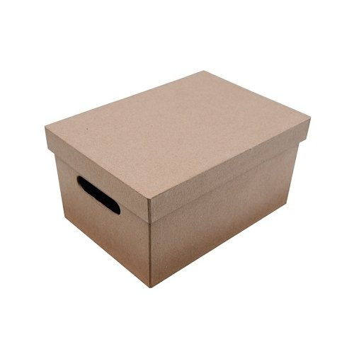 boite de rangement en carton