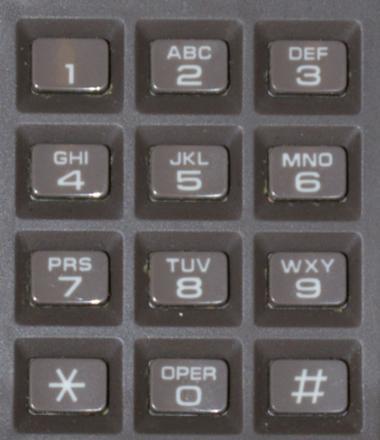 clavier telephone