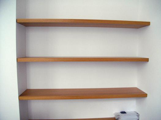etagere fixation invisible