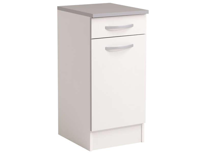 meuble bas cuisine 40 cm profondeur