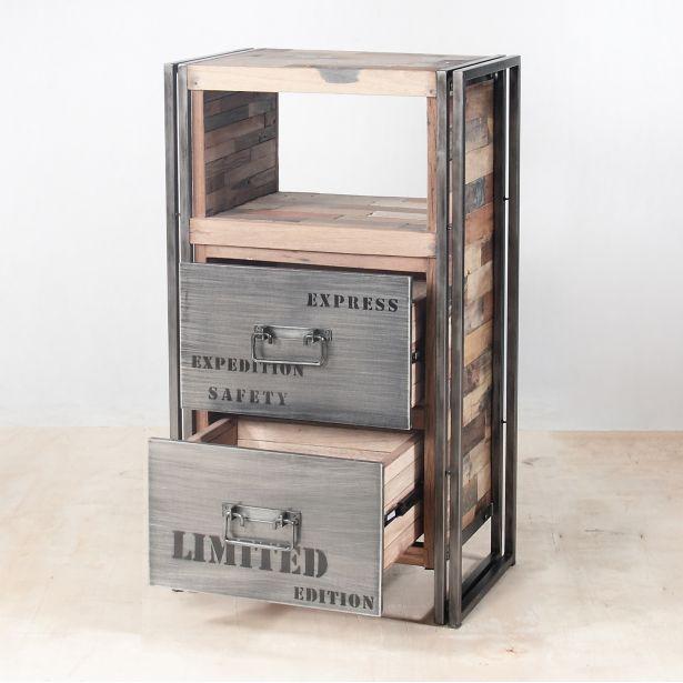 meuble rangement bois