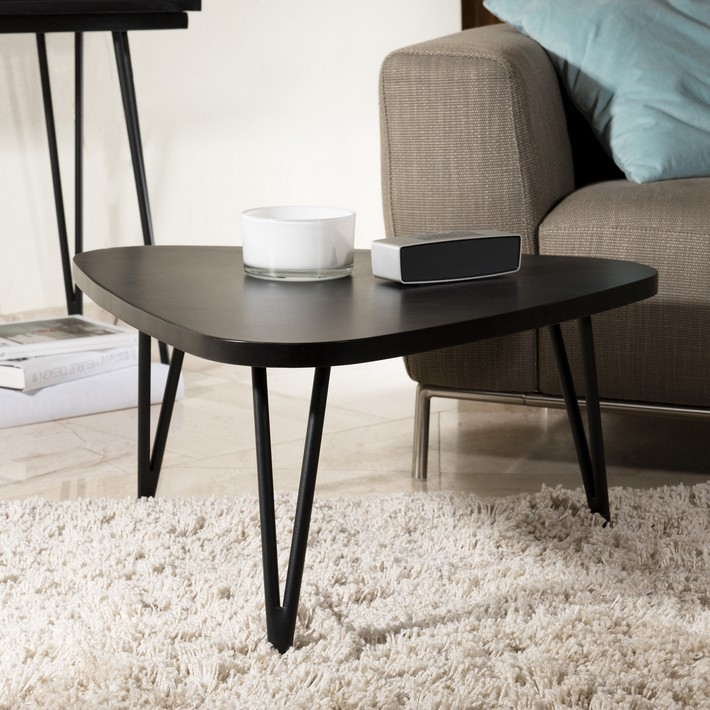 table basse triangulaire